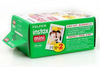 Wholesale fuji cameras resale online - Genuine Sheets White Edge Fuji Fujifilm Instax Mini Film For s s Share SP Instant Camera