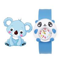 bofetadas para niños al por mayor-Relojes para niños de dibujos animados para brid la muchacha del muchacho de los cabritos bofetada reloj de pulsera de silicona jelly niña reloj deportivo para niños