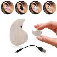 bluetooth kopfhörer stereo für laptop großhandel-Mini drahtloses Bluetooth 4.0 STEREO Kopfhörer-Kopfhörer-Kopfhörer des Inohr-S530 für iPhone Laptop-Notebook-Computer Schwarz