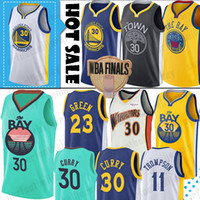 ingrosso klay thompson-Stephen Curry 30 maglie D'Angelo 1 Russell Klay Thompson 11 NCAA Università Jersey Draymond 23 Green Andre 9 lguodala