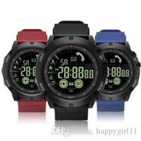браслет bluetooth часы для iphone оптовых-Для apple iphone Bluetooth Смарт часы EX17s Время ожидания SmartWatch Браслет IP67 Водонепроницаемый Плавание Фитнес-Трекер Спортивные Часы Android