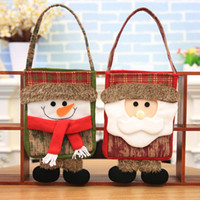 Wholesale cloth baby bags resale online - Polyester Baby Girls Boys Cartoon Storage Christmas Accessory Bag Single Handbags Lovely Bag