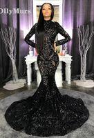 bild spandex kleid großhandel-African Black Girls Lace Perlen echte Bilder High Neck Vestido De Festa Party Kleider