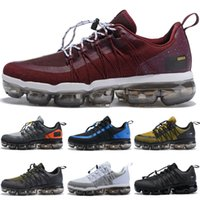 new product 0f21e f0785 Nike Air VaporMax Run UTLTY Nouvelle Arrivée 2019 Air UTILITY Hommes Casual  Chaussures Moyen Olive Olive Bourgogne Crush Designer Hommes Styliste  Casual 40- ...