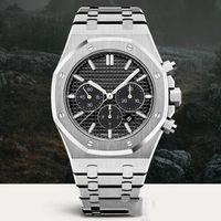 Wholesale oaks fashion resale online - 10 color ROYAL OAK Watches Men Automatic Mechanical Watches Classic Wtyle mm Full Stainless Steel Quartz Wristwatches Sapphire