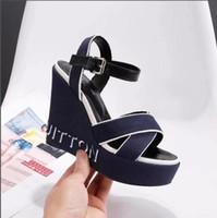 ingrosso scarpe gioiellate-vendita all'ingrosso designer scarpe donna gemma di lusso gioiello gladiatore sandali gelatina tacchi alti donna cinturino alla caviglia scarpe con strass 35-40-No scatola