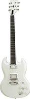 comprimento da guitarra venda por atacado-Custom Made Alpine White SG Barítono Guitarras 24 Frets Ébano Fretboard 27 polegada Comprimento da escala VENDA QUENTE