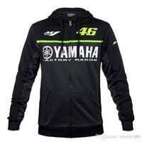 camisa à prova de vento venda por atacado-Moto GP hoodie corrida de moto equitação Para yamaha casaco com capuz jaqueta de roupas homens casacos cross Zip jersey camisolas À Prova de Vento 062