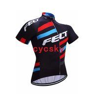 ingrosso sentire biciclette-Maglia da ciclismo FELT Abbigliamento per mountain bike 2019 Summer Racing MTB Abbigliamento da bici Abbigliamento da ciclismo ad asciugatura rapida per uomo