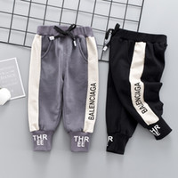 Wholesale newborn sports clothes for sale - Group buy 2019 Fashion Spring Children Boys Stretch Casual Pants Brand Infant Kids Clothing Newborn Cotton Trousers Baby Girls Black Sports Leggings