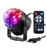 efectos de sonido de pelota al por mayor-Led Disco Light Light Stage Lights DJ Disco Ball Lumiere Sound Activado Proyector láser efecto Lámpara Luz Música Navidad