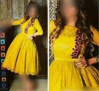 perles moyen orient achat en gros de-2019 Nouvelles robes de soirée arabes saoudiennes Full Lace Appliqued Manches longues avec de superbes perles Dubai Robes de soirée Style Moyen-Orient 280