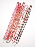 Wholesale camera lanyards neck resale online - New cartoon betty girl Key Chains Neck Strap Keys Camera ID Card Lanyard