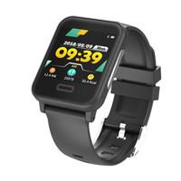 harita saatleri toptan satış-E33 Akıllı Bileklikler EKG Haritalama Akıllı İzle Kan Basıncı Smartwatch Nabız Spor Izci Spor Akıllı Bilezik Kronometre