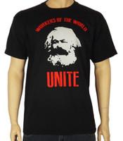 guevara do che camisetas venda por atacado-T-SHIRT DOS TRABALHADORES DE KARL MARX - Socialista comunista marxista Che Guevara