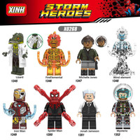 Wholesale toys for boys 2 for sale - Group buy Spider Man Far From Home Lizard FireElemental Wind element Mysterio Iron Man Toys For Children Boys Gift X0268