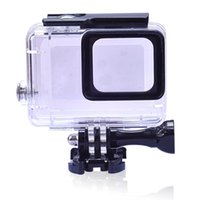 Wholesale gopro protective case resale online - Waterproof Protection Housing Case for GoPro Hero Accessories Diving M Protective For Go Pro Hero Camera