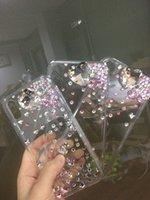 bunte rhinestones telefon fälle großhandel-Diamant kristall luxus bling strass telefon abdeckung case für samsung s8 plus note8 iphone 8 plus iphone x case bunt