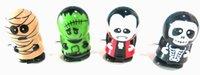 plastikkürbis spielzeug großhandel-Halloween-Kürbis Ostern-Karikaturkinderplastikspielzeugmodellpuzzle viele Arten Mamazombie-Vampirskelett spielt