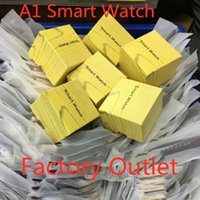 Wholesale price smart watch for sale – best A1 Smart Watch Bluetooth Watches Low Price Wearable Men Women Smart Wristband Mobile with Camera for Apple iPhone Android Phone
