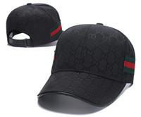 chapeaux noirs ajustables achat en gros de-0GUCCI Chapeau Mode Casquette Femmes Hommes Baseball Réglable Snapback Balle de golf Sport Décontracté Casquette Soleil Casquette de camionneur Avec Anneaux Noir Rose Blanc