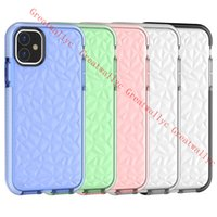 diamant-silikon-etuis für iphone großhandel-Luxuxsilikon-stoßfester Fall für iPhone XI 11 PRO-maximales Xs maximales XR 7 8 PLUS 7Plus Diamant Coque für iPhoneX iPhone11 2019