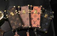 lanière conçue achat en gros de-Lettre anglaise conception conception TPU silicone soft shell couverture de cas de téléphone pour iphone Xs MAX XR 7 7 plus 8 8 plus 6 6 plus avec lanière