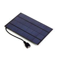 Wholesale solar panel usb output for sale - Group buy SW4205U W V USB Output Mono Solar Panel Charger for Power Bank