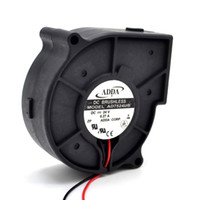 Discount adda 24v fans Free Shipping! 75 * 75 * 30MM 75mm 7530 Taiwan ADDA blower AD7524UB 24V 0.27A projector fan