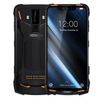 çekirdek süper toptan satış-IP68 / IP69K Su Geçirmez Darbeye Dayanıklı Toz Geçirmez DOOGEE S90 4G LTE Sekiz Çekirdekli 6 GB 128 GB NFC Parmak Izi 16MP Kamera Süper Modüler Sağlam Smartphone