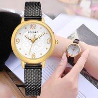 relógios de moda de plástico venda por atacado-Moda Mulheres Relógios de Plástico Strap Watch Mulheres Senhoras Casuais de Quartzo Relógios De Pulso Relógio Reloj Mujer Zegarek Damski