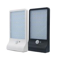 güneş ışığı paketleme toptan satış-En Yeni 450LM 36 LED Güneş Enerjisi Sokak Işık PIR Hareket Sensörü Lambalar Bahçe Güvenlik Lambası Açık Sokak Suya dayanıklı Duvar Işıkları