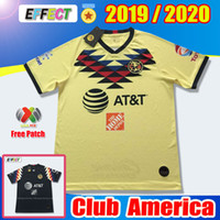 Wholesale club new jerseys resale online - New Club America Home Soccer Jerseys Thailand Liga MX Copa America Chivas de Guadalajara A PULIDO Football Shirts