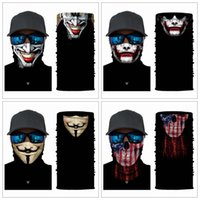 Wholesale face scarf cycling for sale - Group buy 36 Styles Skull Masks Skeleton Magic Bicycle Ski Skull Half Face Mask Ghost Scarf Neck cm Cycling Mask Festival Supplies ZZA1328