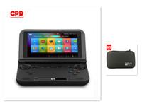 mini tarjetas sd 4 gb al por mayor-Venta al por mayor GPD XD Plus 5 pulgadas PC de juegos portátil Consola de juegos inteligente Juego de 4GB / 32GB para computadora portátil mini con bolsa 32GB Tarjetas SD