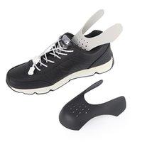 bälle tragen großhandel-Schuhe Schilde für Sneaker Anti-Falten-Falten-Schuh-Unterstützung Toe Cap Sport Ball Schuh Kopf Bahre