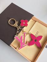 keychain digital großhandel-2019 neueste Top Luxus Keychain Cirle Mode Auto Schlüsselanhänger Edelstahl Designer frauen Keychain für Geschenke mit Box Original box
