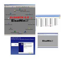 sitio web x431 al por mayor-2019 Hot Auto Repair Software ELSAWIN 6.0V para V-W para Audi datos de reparación de automóviles Elsawin 6.0 versión más reciente envío gratis de DHL