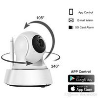 Wholesale Cctv Camera - 2017 new Home Security Wireless Mini IP Camera Surveillance Camera Wifi 720P Night Vision CCTV Camera Baby Monitor