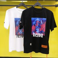 Wholesale blu white for sale - Heron Preston T Shirt Men Women Streetwear Xxxtentacion Harajuku Boyfriend Gift Blu ray Men T shirt Heron Preston Summer Tshirt