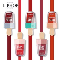 Wholesale charming lips for sale - Group buy Liphop Color Waterproof Liquid Lipstick Dear Darling Lips Tattoo Tints Makeup Sheer Moisturizing Lasting Natural Charming Lips