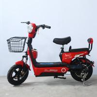 sıcak tekerlekler elektrikli otomobiller toptan satış-Sıcak atı elektrikli otomobil iki tekerlekli elektrikli bisiklet yetişkin pil araba eğlence elektrikli araba taşıma çocuk Bisiklet