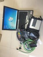 mb estrela c5 xentry venda por atacado-2019 MB Star C5 SD Conecte sd c5 com Laptop D630 (4g) Diagnóstico xentry SSD hdd 2019.07v DAS / Vediamo / DTS para Mb Star C5 Carros Caminhões