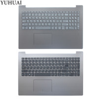 lenovo ideapad clavier achat en gros de-NOUVEAU clavier américain pour Lenovo IdeaPad 330-15IKB 330-15 Ordinateur portable Palmrest Upper Case Keyboard Bezel Cover avec