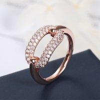 index finger ring fashions 도매-새로운 직렬 잠금 스퀘어 디자인 반지 여성 패션 인덱스 손가락 럭셔리 커플 결혼 반지 Zk40