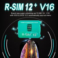x sim iphone entsperren großhandel-RSim12 + V16 R sim12 + SIM 12+ RSIM 12+ R-Sim 12+ entsperren für iPhone XS X 8 7 6 Plus automatisch Pop-Out-Menü entsperren für iOS 12.2-12.3