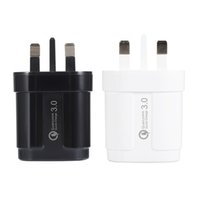 Wholesale mi charger for online – Quick Charge Usb Charger Uk Plug Qc3 Fast Charger For Samsung S10 S9 Xiaomi Mi Huawei