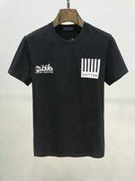 kadınlar için siyah yaz tişörtü toptan satış-2020D2 Yaz Kısa Kollu Erkek T Shirt Siyah T Shirt Erkekler Kadınlar Tişörtlü Kısa Kollu M-3XL