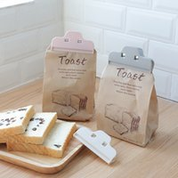 Wholesale powder tea for sale - Group buy Plastic Food Sealing Clip Reusable Dust proof Storage Bag Clamp Coffee Tea Leaf Powdered Milk Sealer Kitchen Accessories