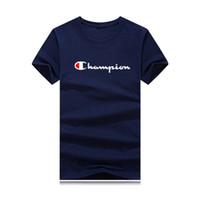 cor dobro camiseta venda por atacado-2019 nova moda multi-color mens T-shirt, design de impressão listra de cor dupla, confortável e respirável, mangas curtas de algodão, tamanho s-5x